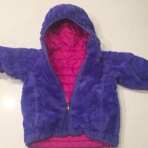 The north face toddler 3T reversible jacket